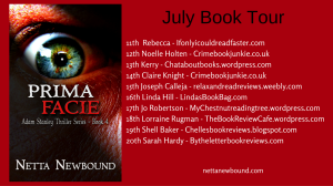 Blog tour prima facie